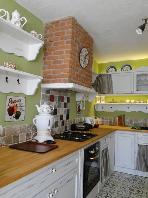 Tuncer Sezgin İç Mimarlık – Yu-Ga Otel:  tarz Mutfak