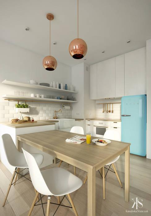 Kitchen by Kamińska Stańczak