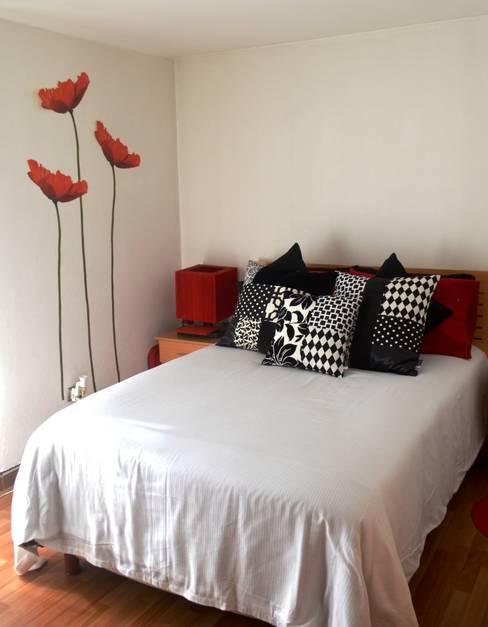 غرفة نوم تنفيذ Sandra Molina