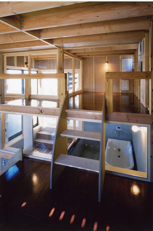 Phòng tắm by スタジオ4設計