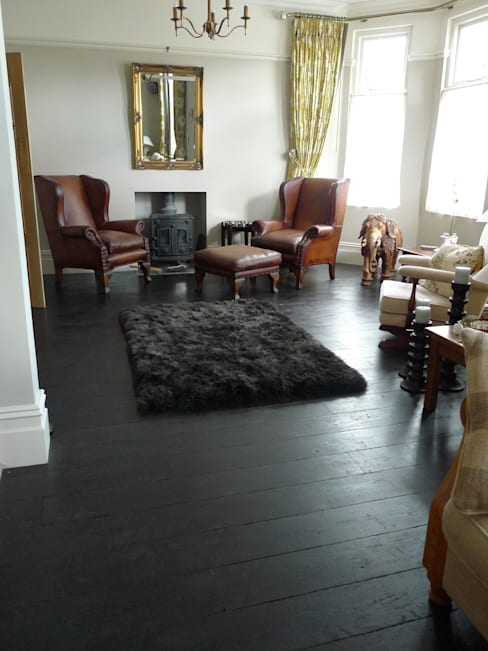 Living room by Chaunceys Timber Flooring