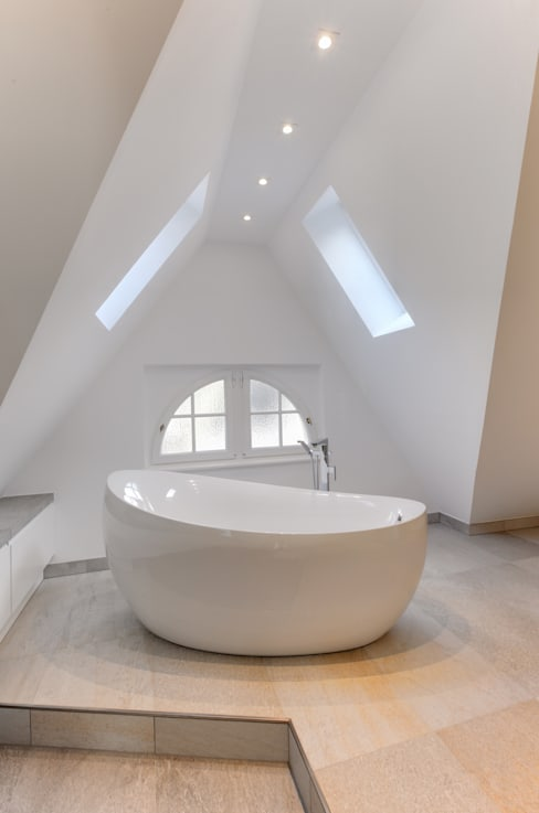 ห้องน้ำ by 28 Grad Architektur GmbH