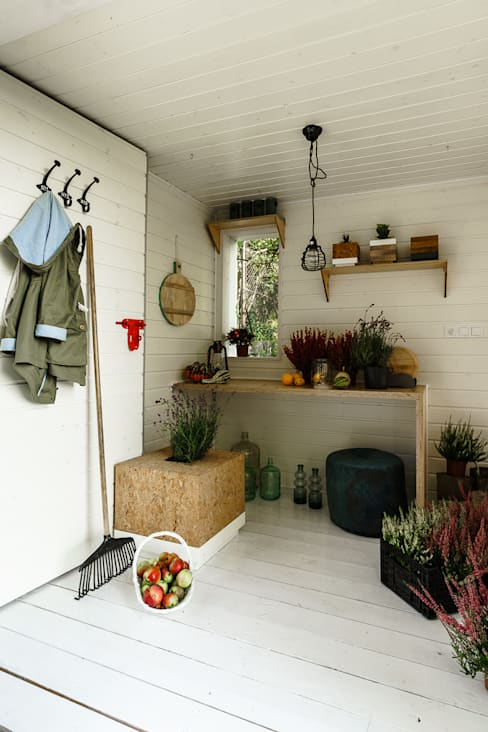 Jardines de estilo  por Grupa Bio3