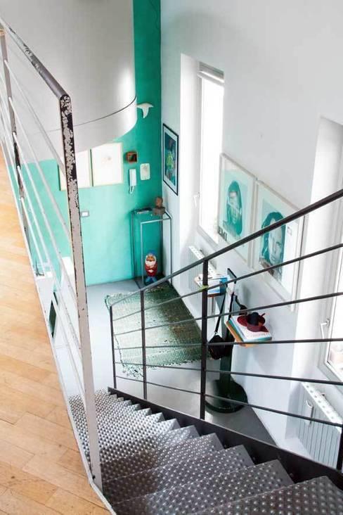Emilia Barilli Studio di Architettura의  복도 & 현관