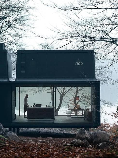 Espacios comerciales de estilo  por Vipp
