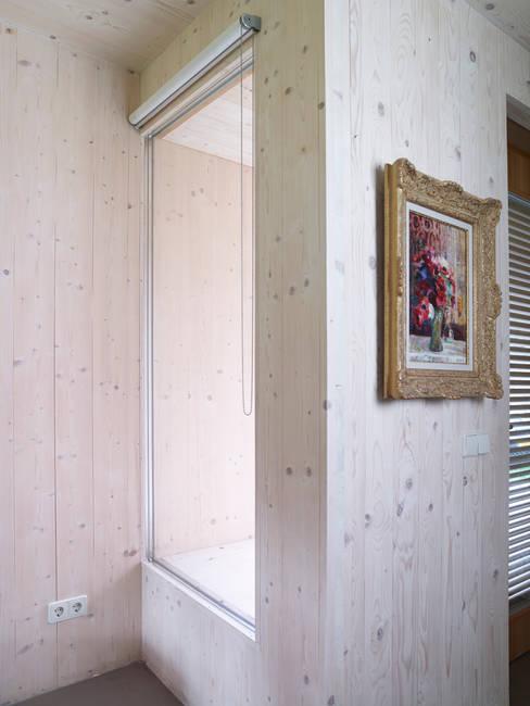Passiefhuis Witven:  Slaapkamer door Thomas Kemme Architecten