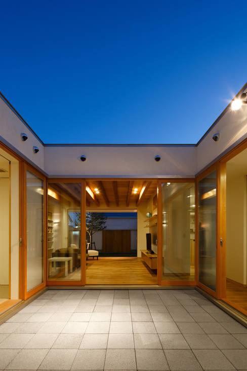 二つ目の庭: 窪江建築設計事務所が手掛けた庭です。