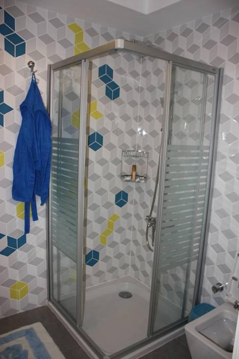 AYAYAPITASARIM – VİLLA:  tarz Banyo