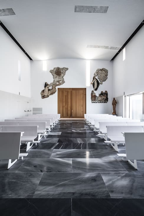 Projekty,  Salon zaprojektowane przez Hernández Arquitectos