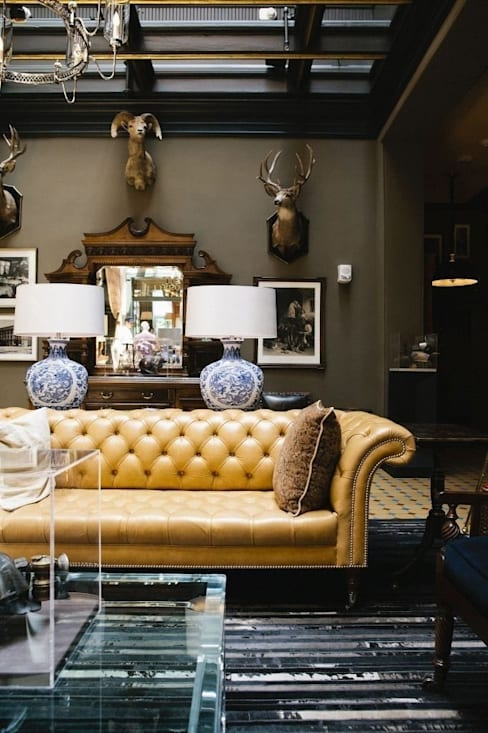 Interior landscaping by Luxury Stone / Billionaire Furniture Club