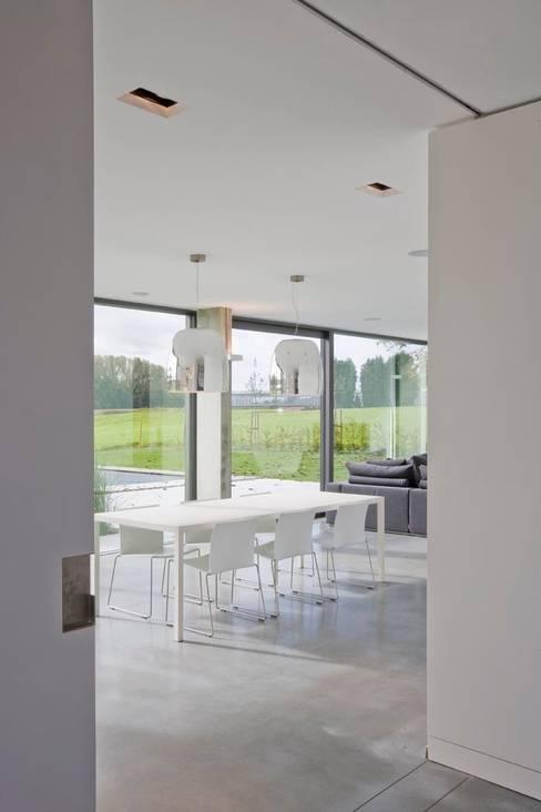 hasa architecten bvba:  tarz Yemek Odası