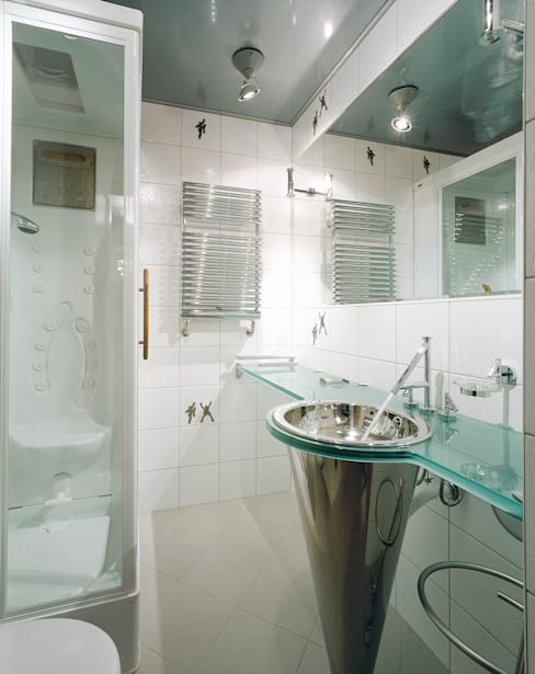 Балтийские дюны: Ванные комнаты в . Автор – Studio B&L