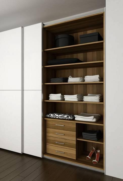 Dormitorios de estilo  por Logos Kallmar