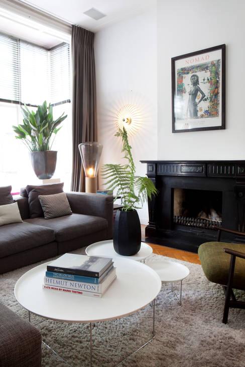 Familiehuis, Amsterdam Zuid:  Woonkamer door Binnenvorm