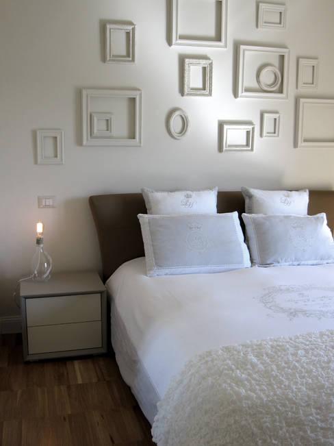 Projekty,  Sypialnia zaprojektowane przez studio radicediuno