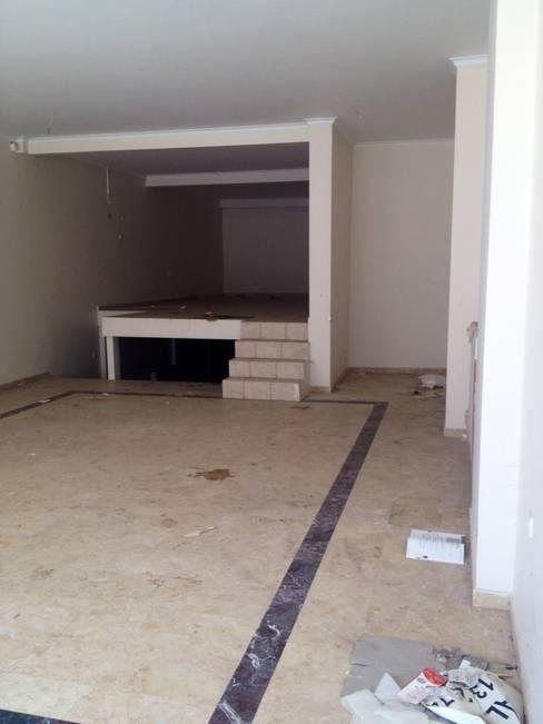 Loft House Tasarım Ofisi – Loft house giriş kat before:  tarz