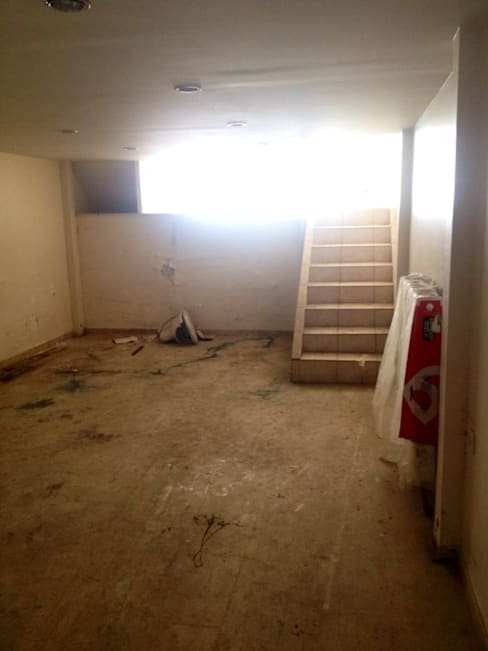 Loft House Tasarım Ofisi – Loft house bodrum kat before:  tarz