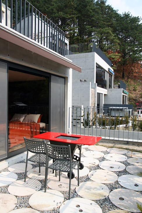포천 돌체비타 펜션 (Dolce bita pension): archim architects의