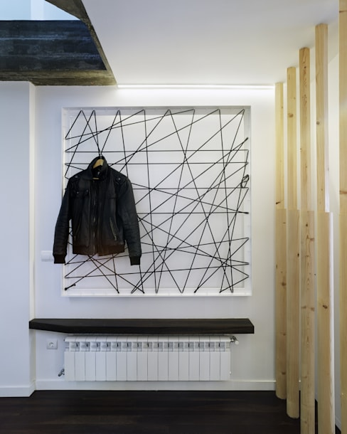 Ingresso & Corridoio in stile  di Ameneiros Rey | HH arquitectos