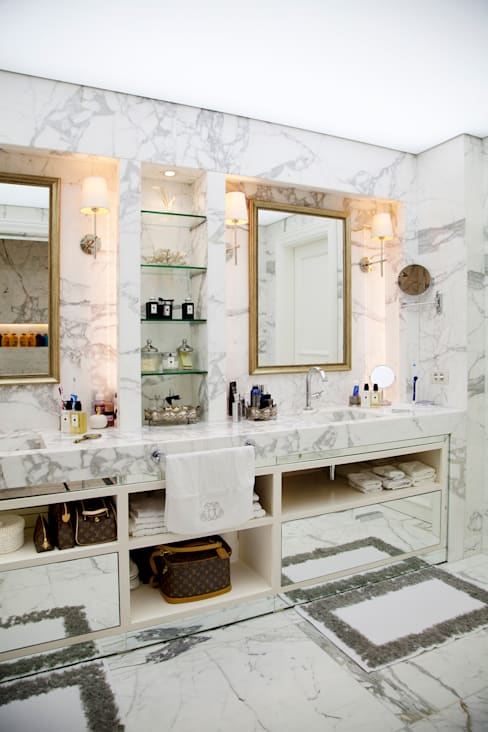 Kerim Çarmıklı İç Mimarlık – Çubukluvadi Evi :  tarz Banyo