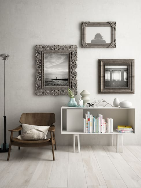 Vestíbulos, pasillos y escaleras de estilo  por Studiod3sign