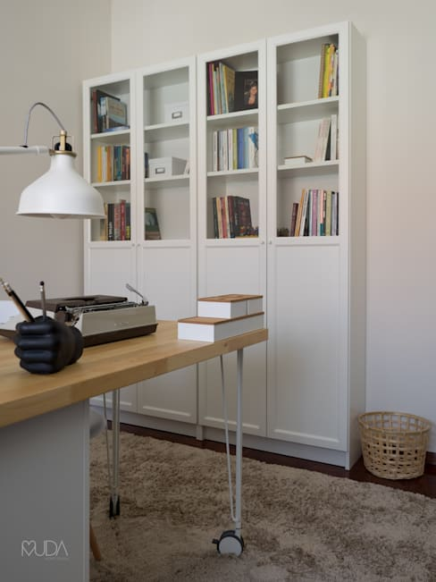 MUDA Home Designが手掛けた書斎