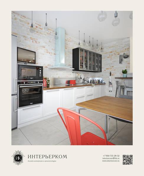 дизайн-проект кухни Easy loft: Кухни в . Автор – ИнтерьерКом / InteriorCom