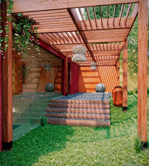 Garden  by arQing