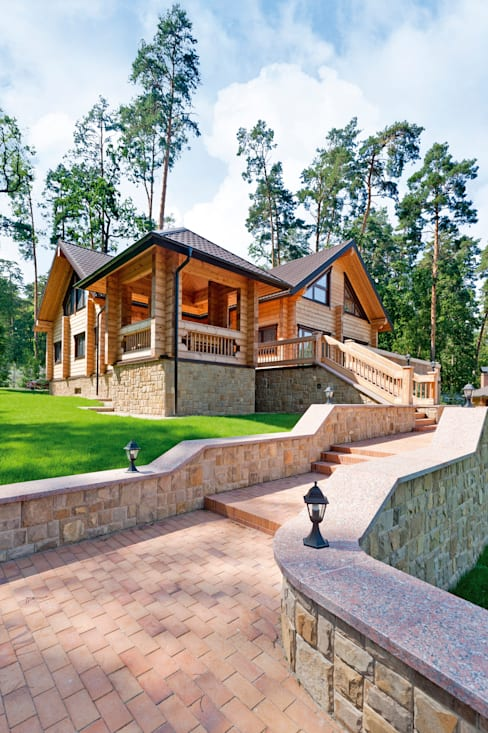 กระท่อมไม้ by Woody-Holzhaus - Kontio