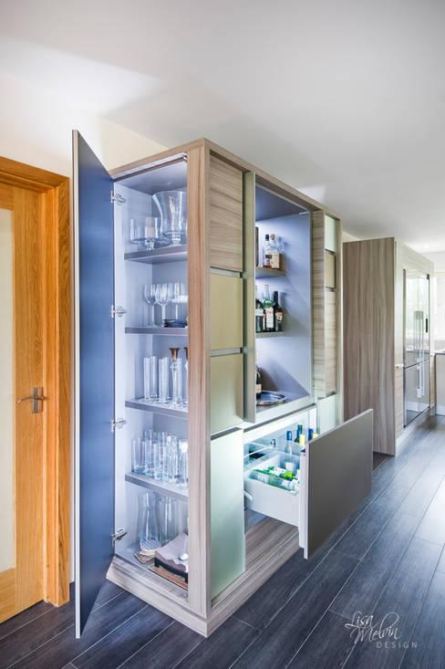 Cozinha  por Lisa Melvin Design