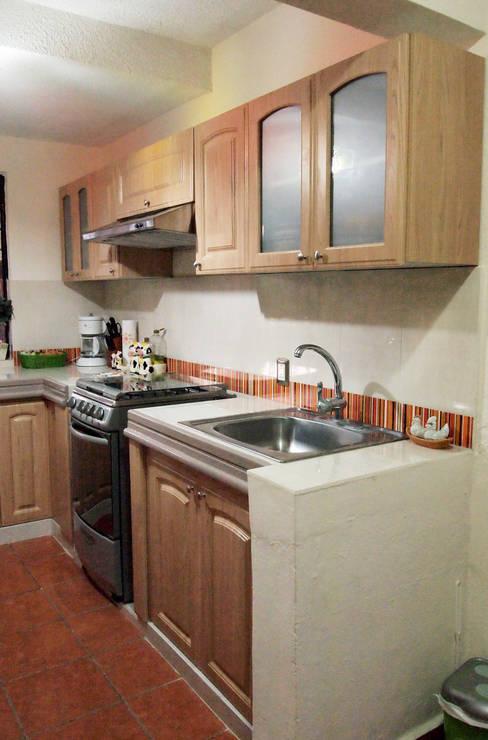Küche von Amarillo Interiorismo
