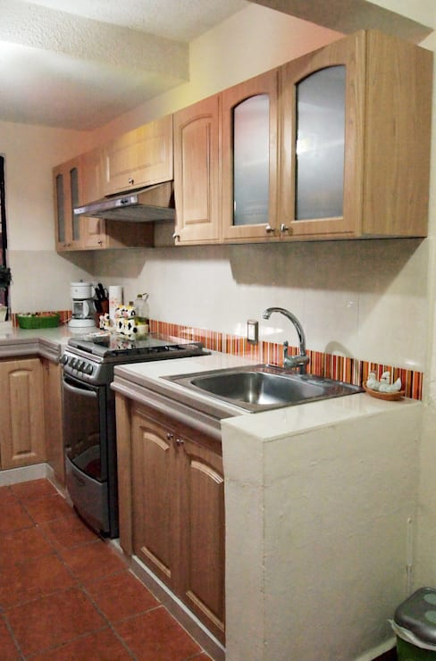 Cucina in stile  di Amarillo Interiorismo