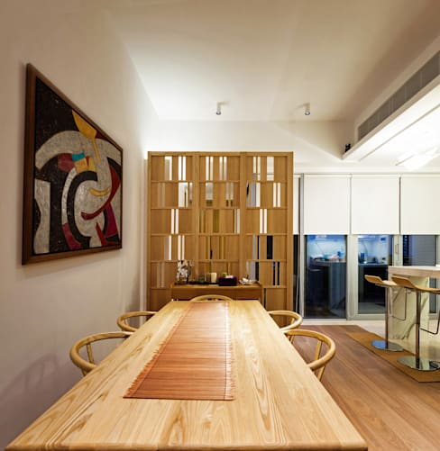 Salle à manger de style  par arctitudesign