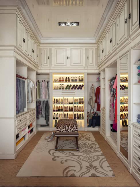 Closets  por Sweet Home Design