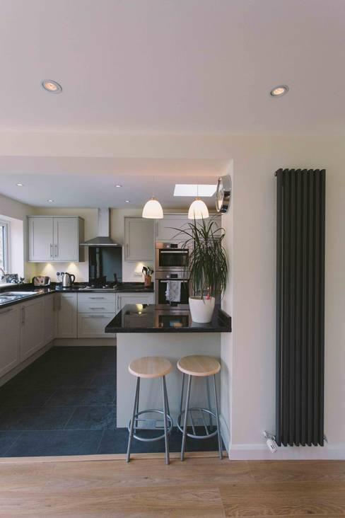 مطبخ تنفيذ PARKdesigned Architects