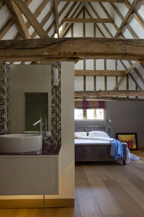 Bedroom by Hudson Architects