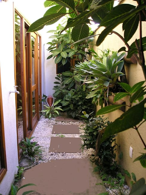 Giardino d'inverno in stile  di Metamorfose Arquitetura e Urbanismo
