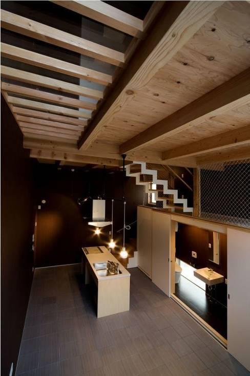 Kitchen by 【快適健康環境+Design】森建築設計