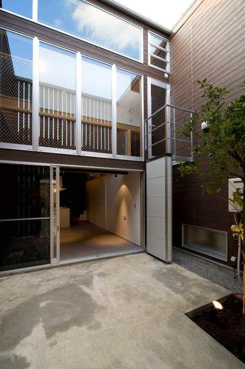 Garden by 【快適健康環境+Design】森建築設計