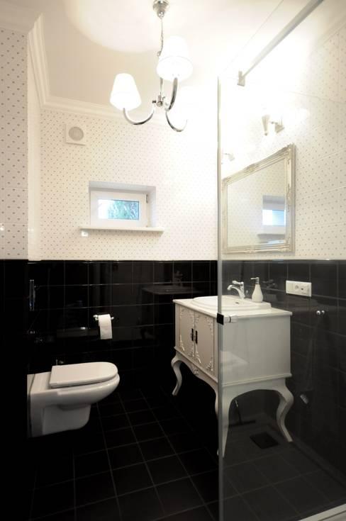 Bathroom by Grzegorz Popiołek Projektowanie Wnętrz