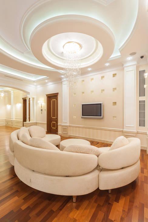 Projekty,  Salon zaprojektowane przez дизайн-студия ZE-MOOV