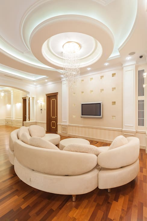 Living room by дизайн-студия ZE-MOOV