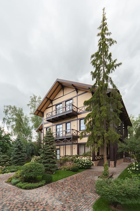 Projekty,  Domy zaprojektowane przez дизайн-студия ZE-MOOV