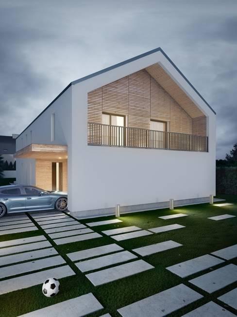 Houses by Kunkiewicz Architekci