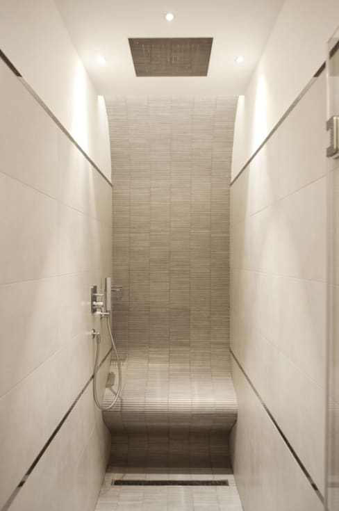 Projekty,  Łazienka zaprojektowane przez ar architetto roma