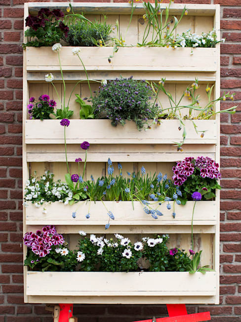 pallet tuin Medium:  Butterfly:  Balkon, veranda & terras door Pop up Pallets