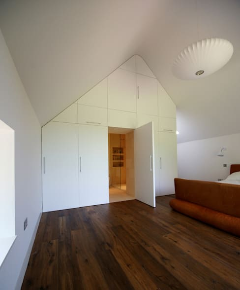 Hall + Bednarczyk Architects:  tarz Yatak Odası