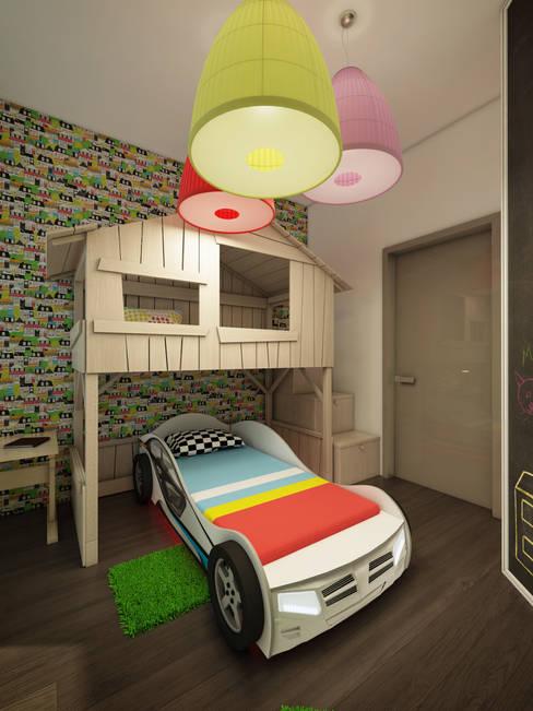 Васечкин  Designが手掛けた子供部屋