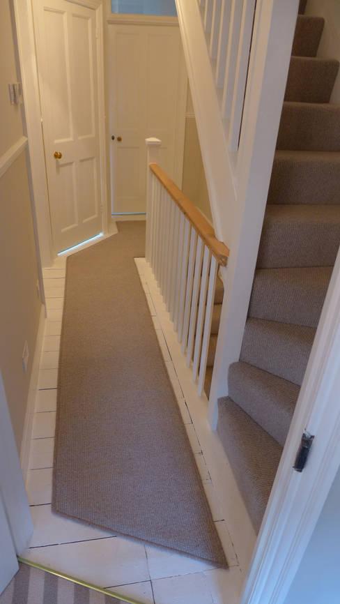Landing carpet runner:  Corridor & hallway by Style Within