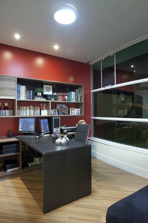Arquiteto Aquiles Nícolas Kílaris:  tarz Çalışma Odası